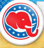 Republican Shop Elephant Logo